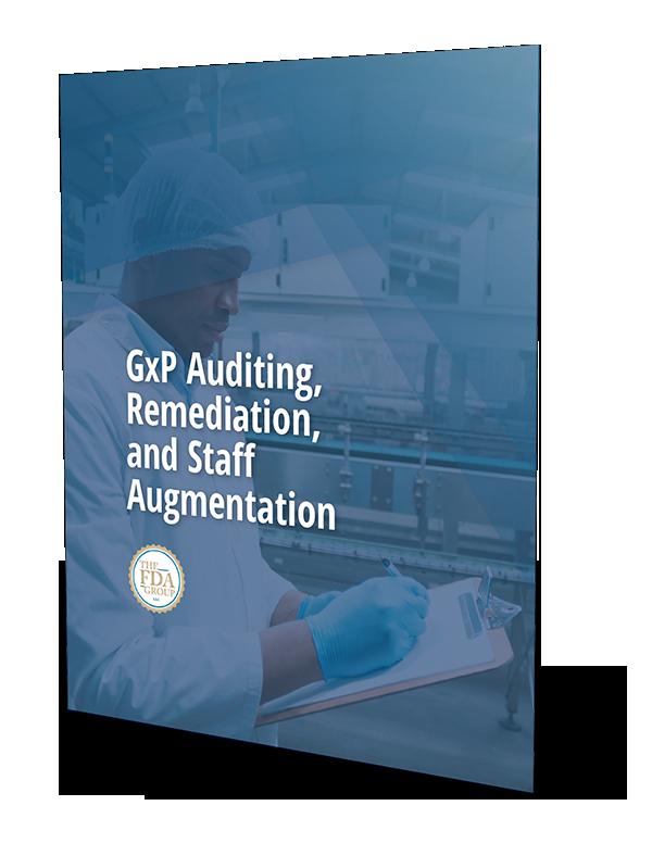 GxP Auditing, Remediation, and Staff Augmentation