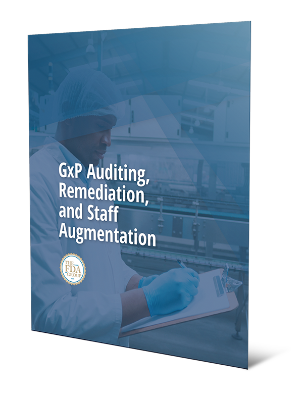 GxP Auditing, Remediation, and Staff Augmentation