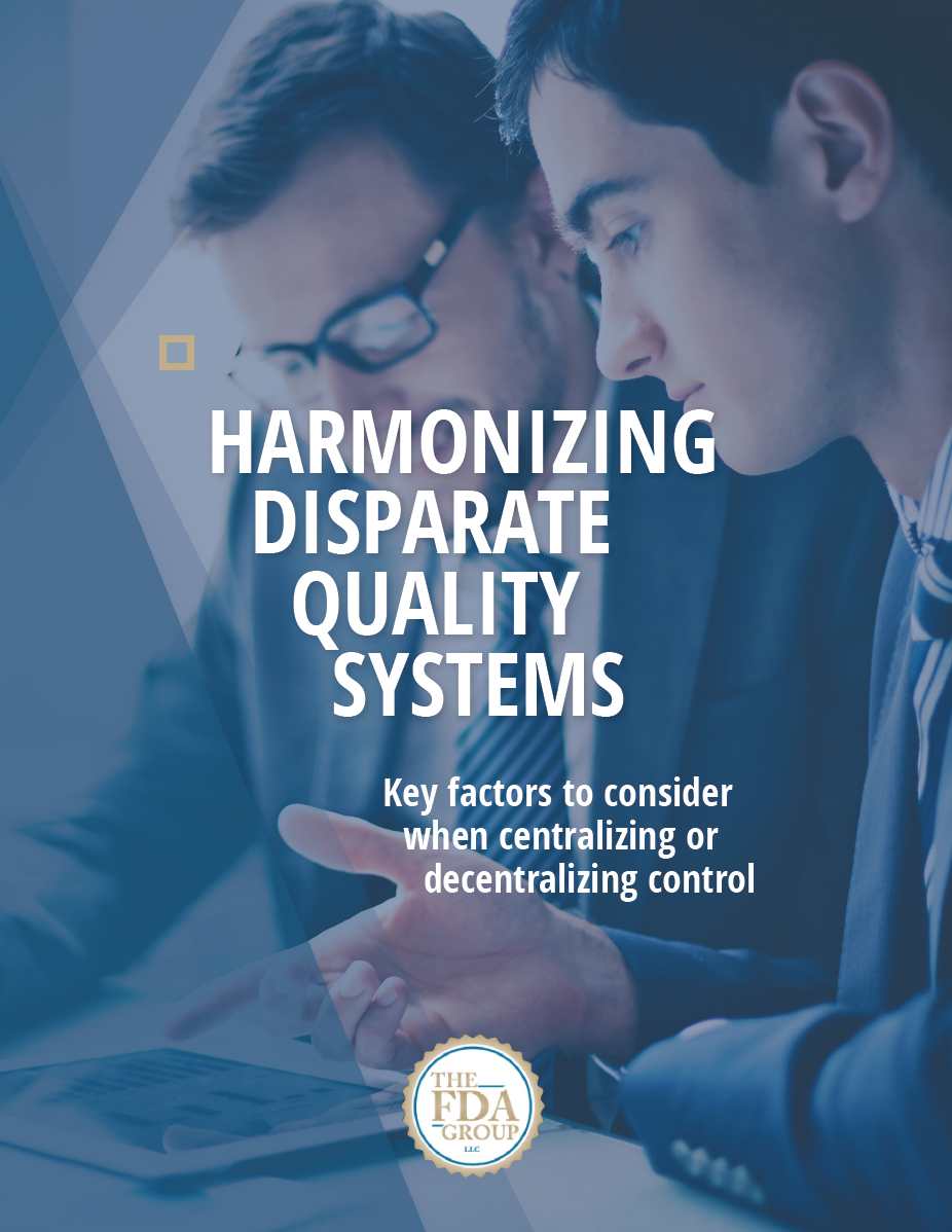 Harmonizing Disparate Quality Systems
