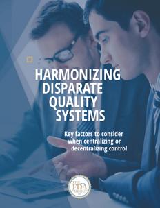 Harmonizing Disparate Quality Systems
