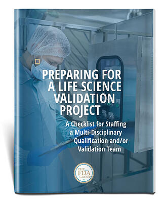Cover of Validation White Paper