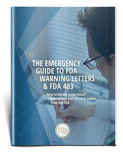 FDA Warning Letters and 483