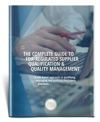 Supplier Qualification