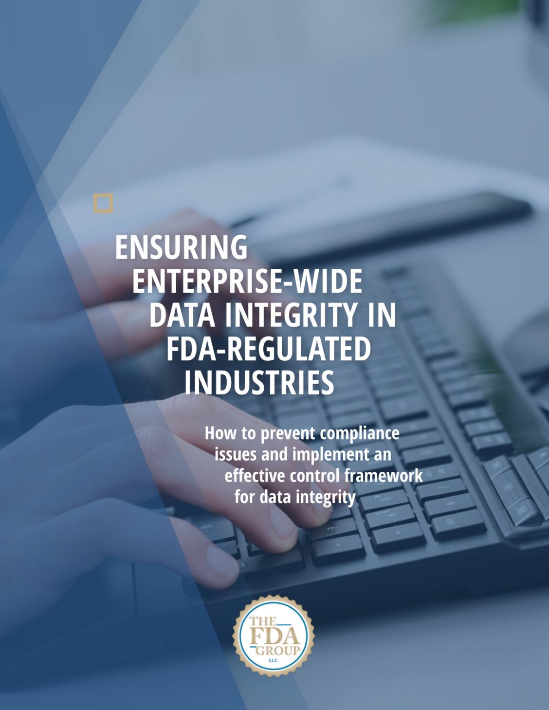 Ensuring Enterprise-Wide Data Integrity