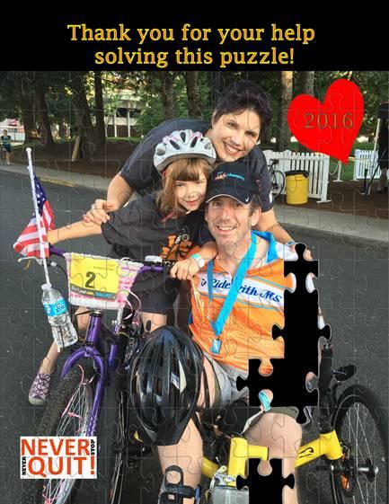 Bike MS –National Multiple Sclerosis Society
