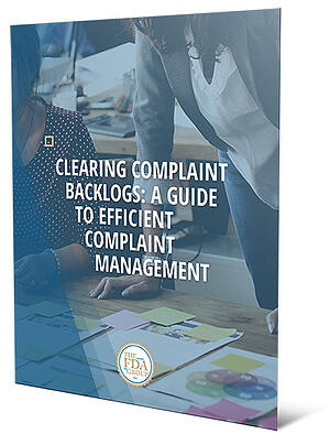 Clearing Medical Device Complaint Backlogs