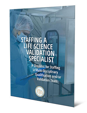 Staffing a Life Science Validation Specialist